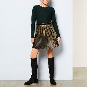 {GB Girls} Fremaux-Girl Stretch Over Knee Boots